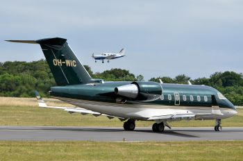 OH-WIC - Jetflite Oy Canadair CL-600 Challenger 604