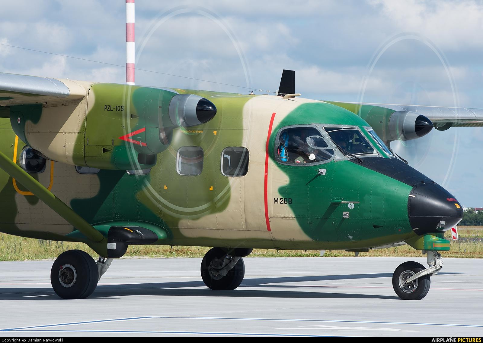 Poland - Air Force 0212 aircraft at Bydgoszcz - Szwederowo