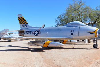 53-1525 - USA - Air Force North American F-86H Sabre