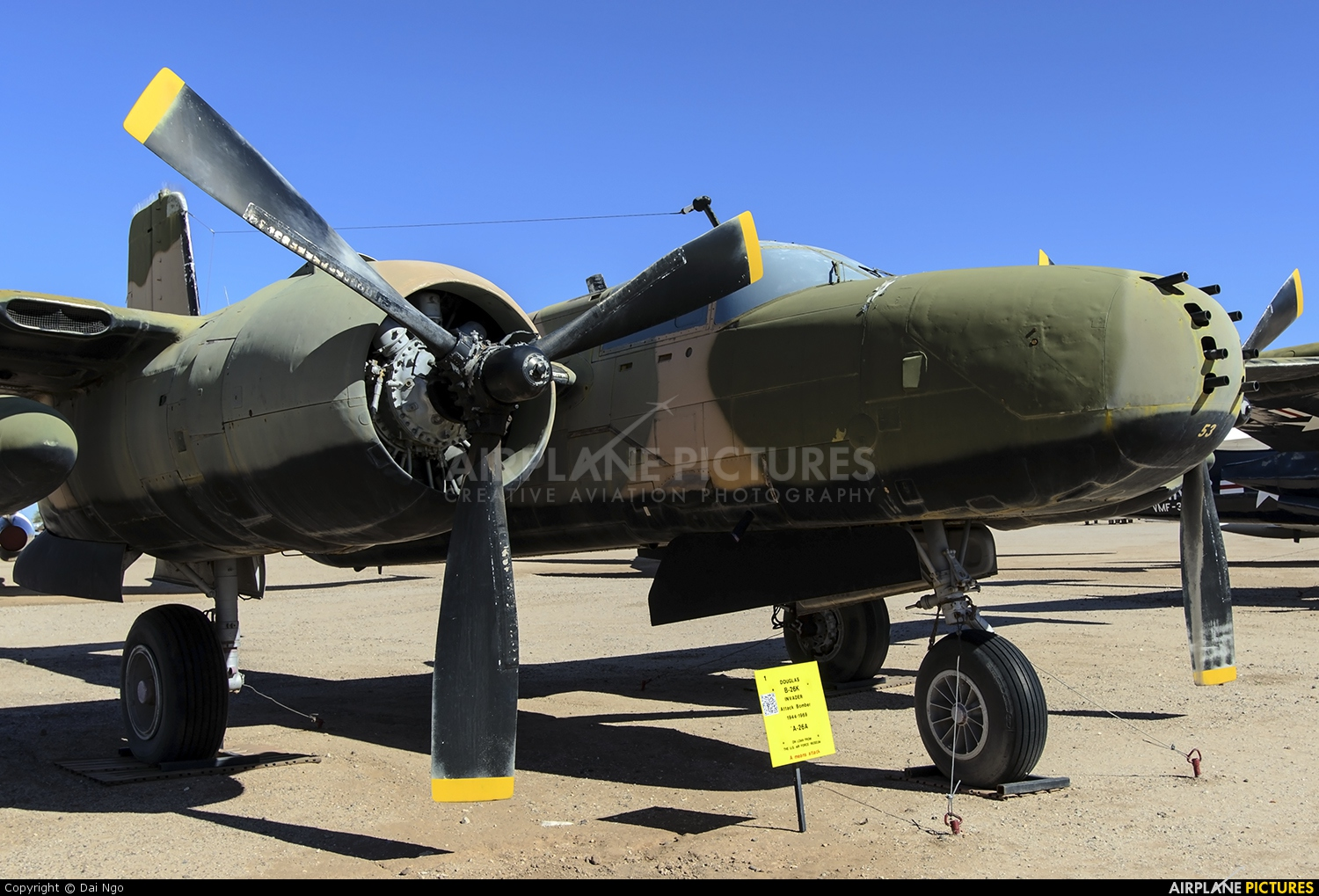 USA - Air Force 64-17653 aircraft at Tucson - Pima Air & Space Museum