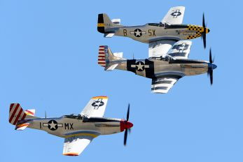 N351MX - Private North American P-51D Mustang