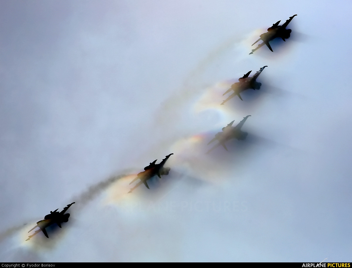 "Russia - Air Force ""Russian Knights"" 20 aircraft at Torzhok"