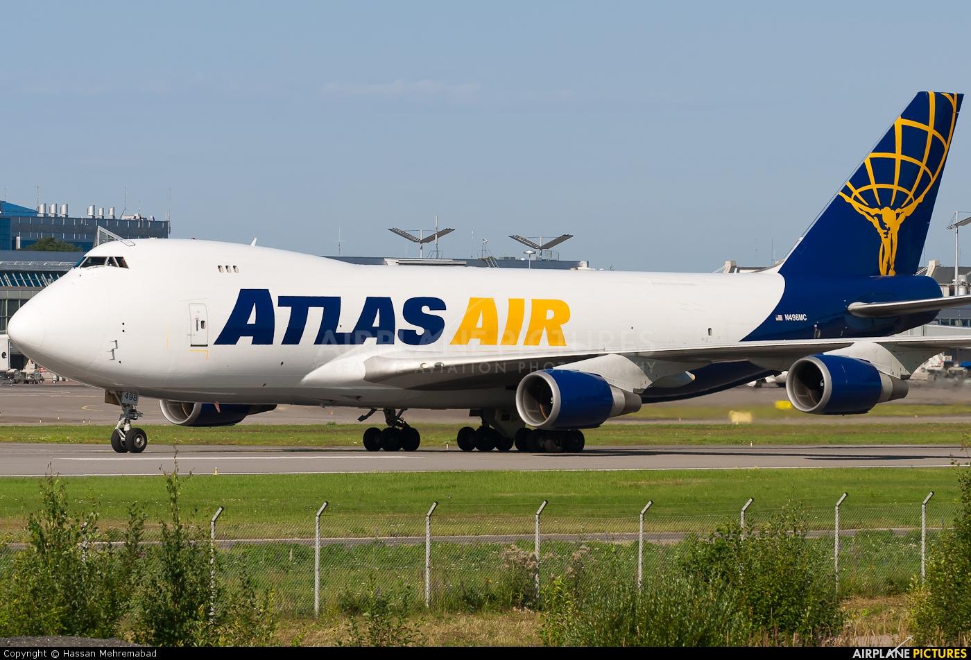 Atlas Air N498MC aircraft at Helsinki - Vantaa