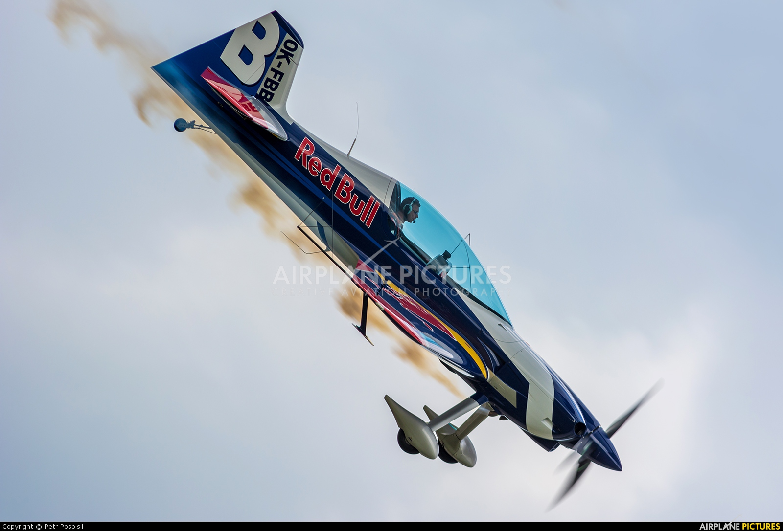 The Flying Bulls OK-FBB aircraft at Pardubice