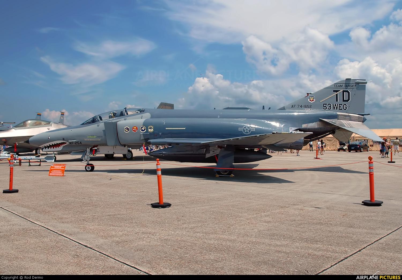 USA - Air Force 74-1652 aircraft at Panama City - Tyndall AFB