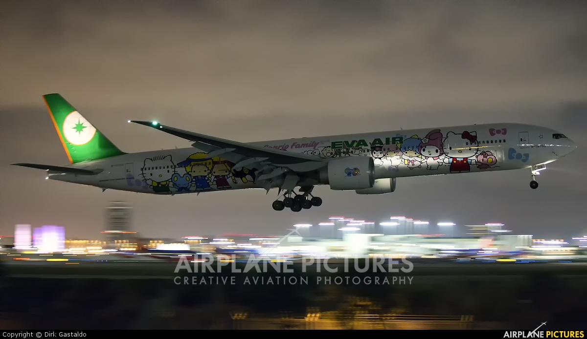 Eva Air B 16703 Aircraft At Los Angeles Intl