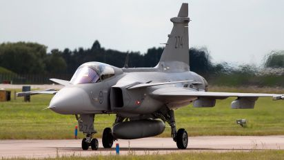 39274 - Sweden - Air Force SAAB JAS 39C Gripen