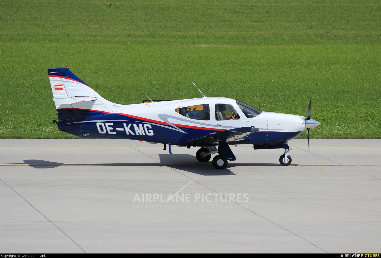 FlyTyrol OE-KMG aircraft at Innsbruck