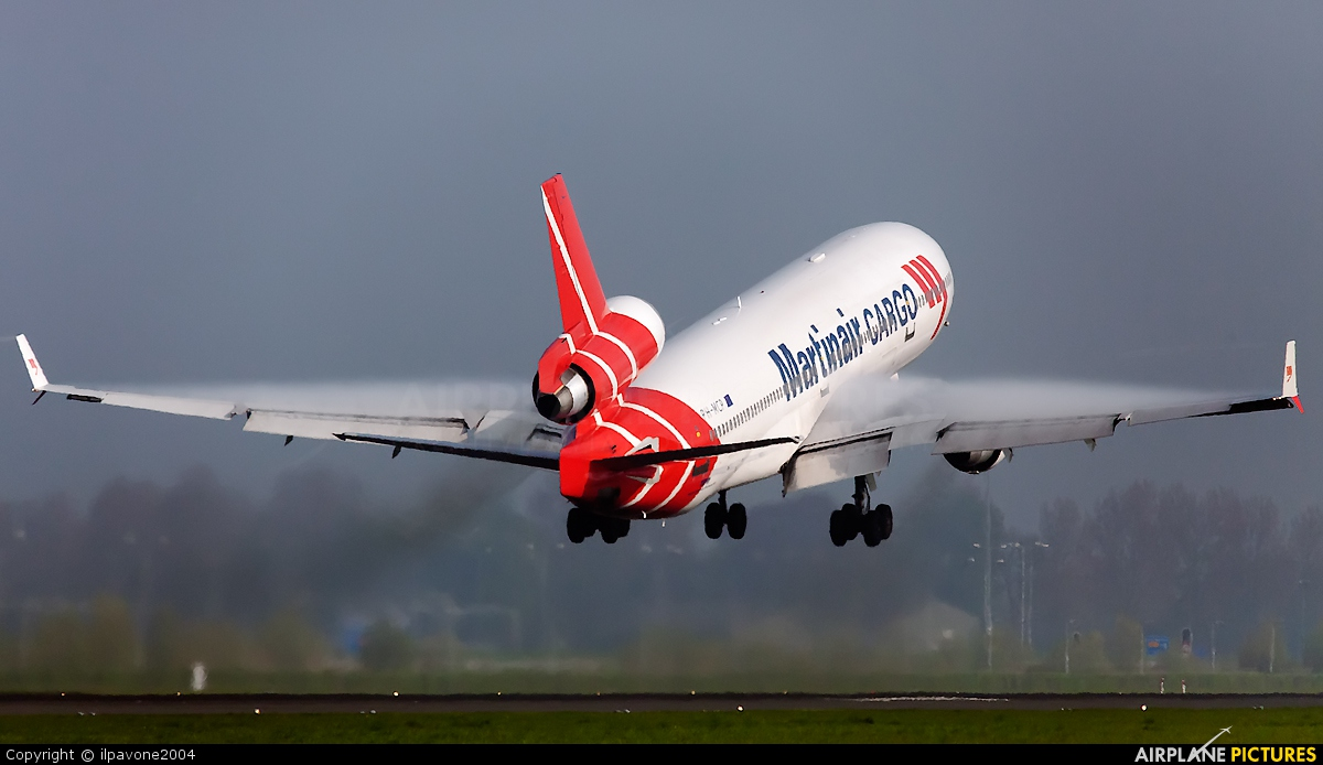 PH-MCP - Martinair Cargo McDonnell Douglas MD-11F at Amsterdam