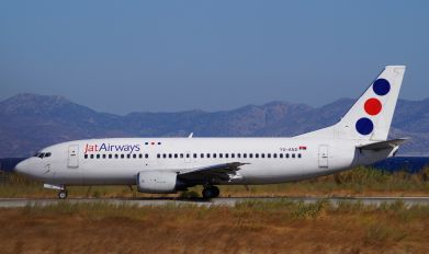 YU-AND - JAT Airways Boeing 737-300