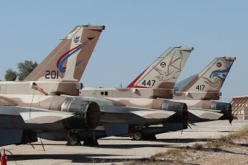 201 - Israel - Defence Force Lockheed Martin F-16I Sufa