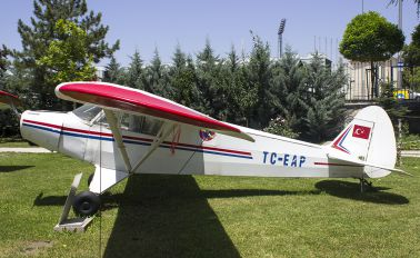 TC-EAP - Turkish Aeronautial Association Piper PA-18 Super Cub