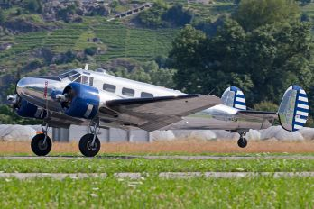 N223CM - Private Beechcraft 18 Twin Beech, Expeditor