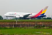 Asiana A380 Gimpo - Seoul test flight title=