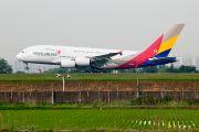 Asiana A380 Gimpo - Seoul test flight title=