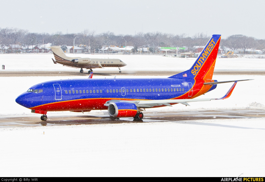 Southwest Airlines N632SW aircraft at Dallas - Love Field