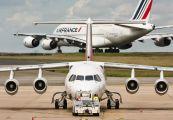 HB-IYQ - Swiss British Aerospace BAe 146-300/Avro RJ100 aircraft