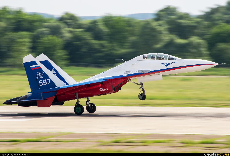 Gromov Flight Research Institute 597 aircraft at Ramenskoye - Zhukovsky