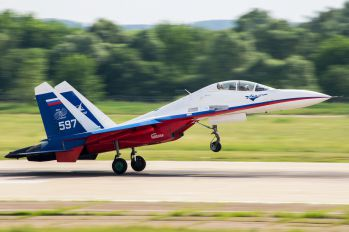 597 - Gromov Flight Research Institute Sukhoi Su-30LL