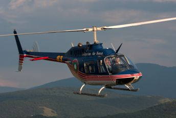 03 - Bulgaria - Air Force Bell 206B Jetranger III