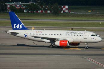 OY-KBP - SAS - Scandinavian Airlines Airbus A319