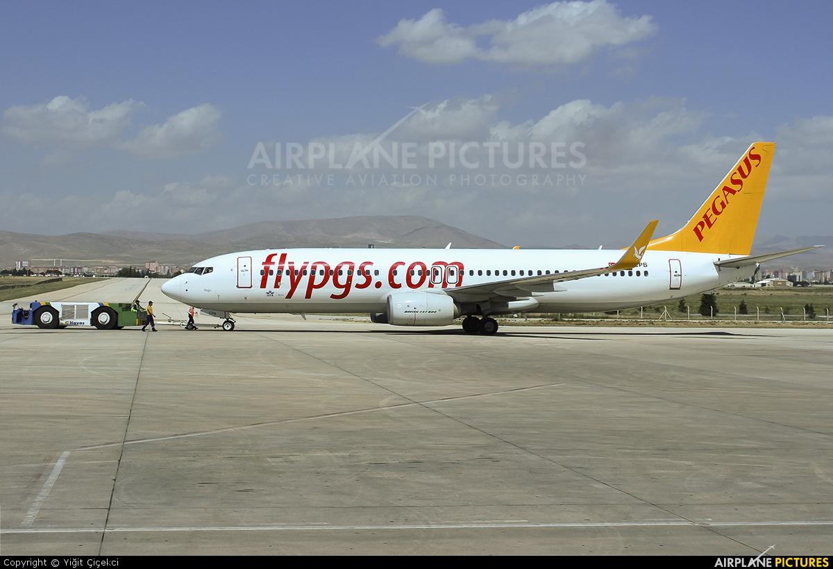 Pegasus TC-CPB aircraft at Konya