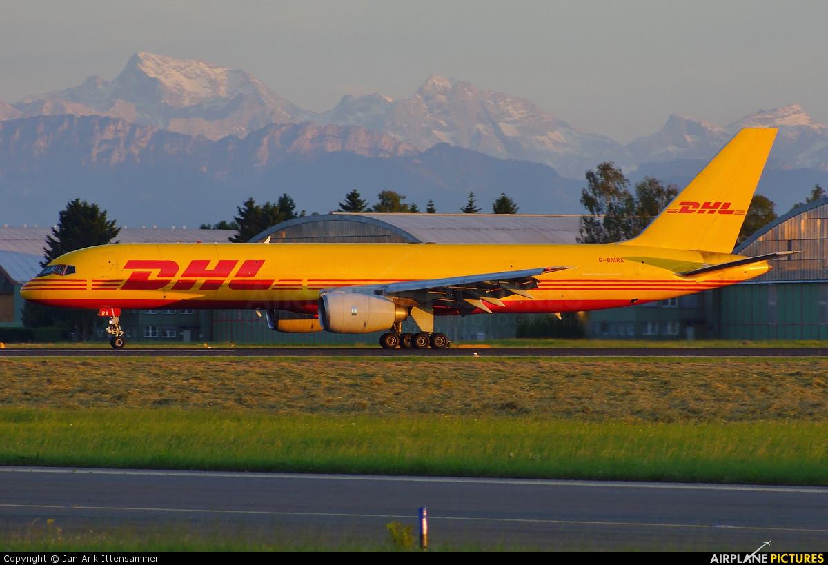 DHL Cargo G-BMRA aircraft at Linz