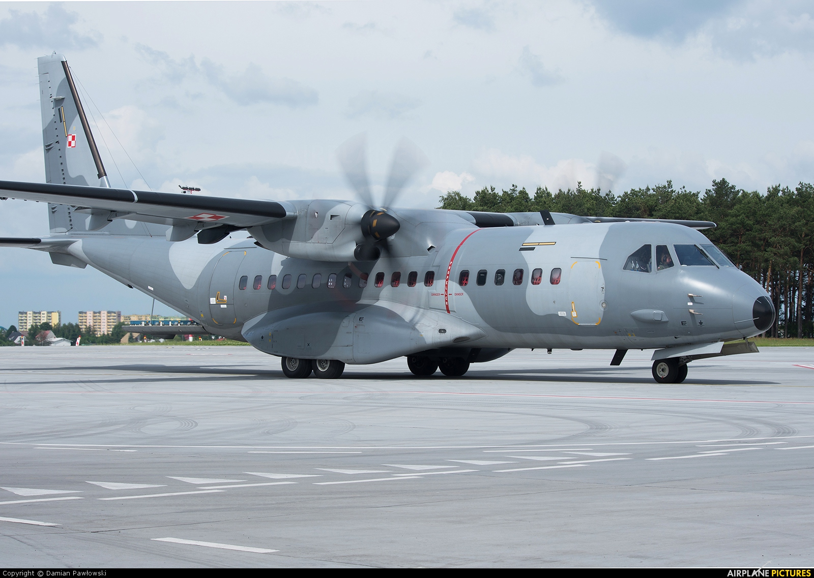 Poland - Air Force 023 aircraft at Bydgoszcz - Szwederowo