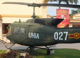 027 - Vietnam - Air Force Bell UH-1H Iroquois