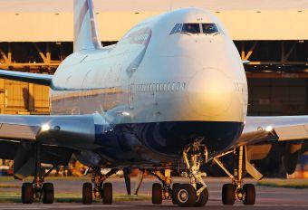 G-CIVR - British Airways Boeing 747-400