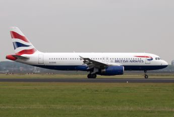 G-EUUS - British Airways Airbus A320