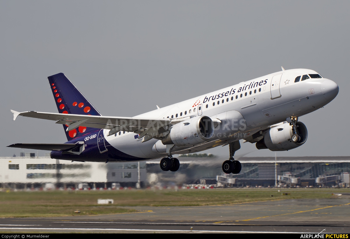 Brussels Airlines OO-SSD aircraft at Brussels - Zaventem