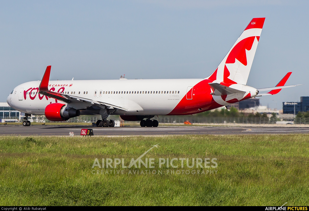 Air Canada Rouge C-FMWV aircraft at Toronto - Pearson Intl, ON