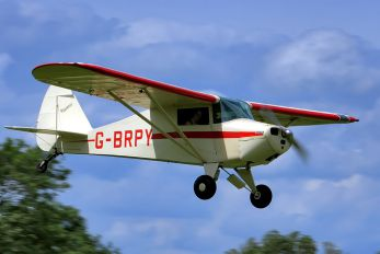 G-BRPY - Private Piper PA-15 Vagabond