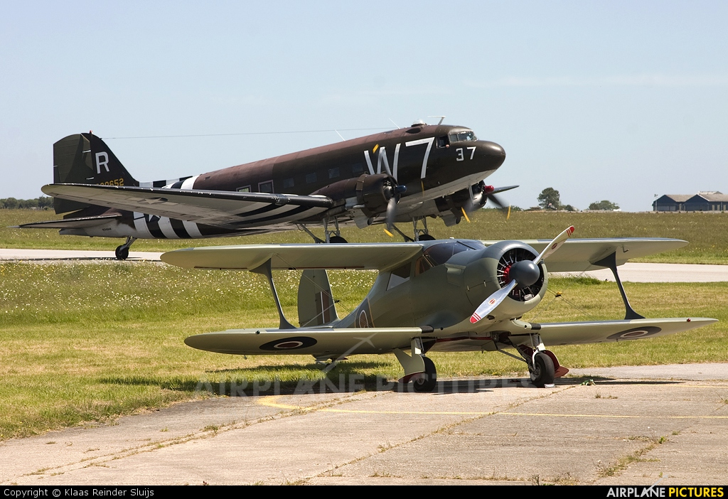Private NC16S aircraft at Cherbourg-Maupertus
