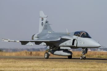 20 - South Africa - Air Force SAAB JAS 39C Gripen