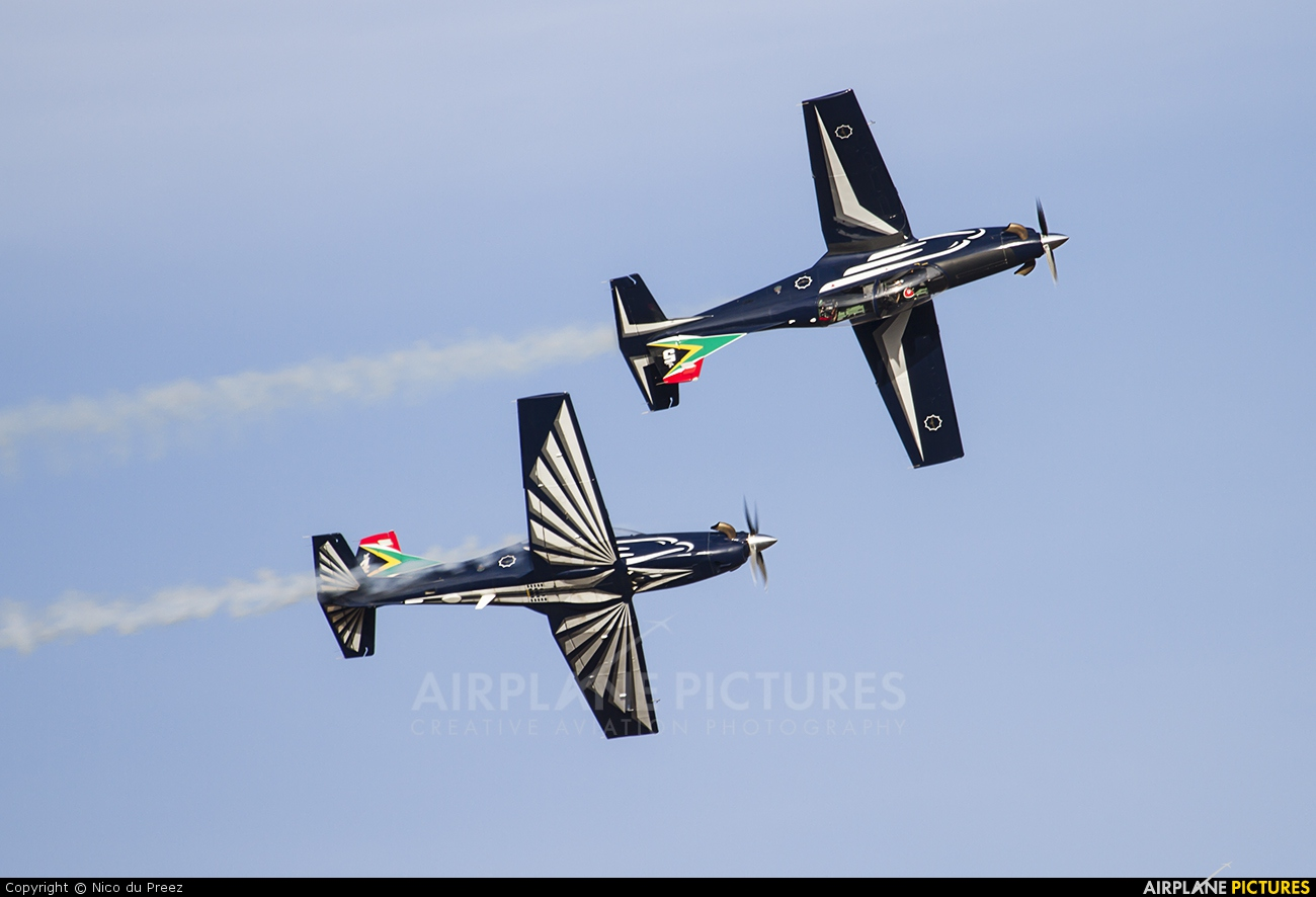 South Africa - Air Force: Silver Falcons - aircraft at Swartkops