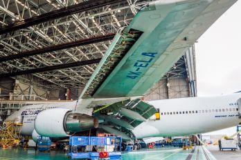 4X-ELA - El Al Israel Airlines Boeing 747-400