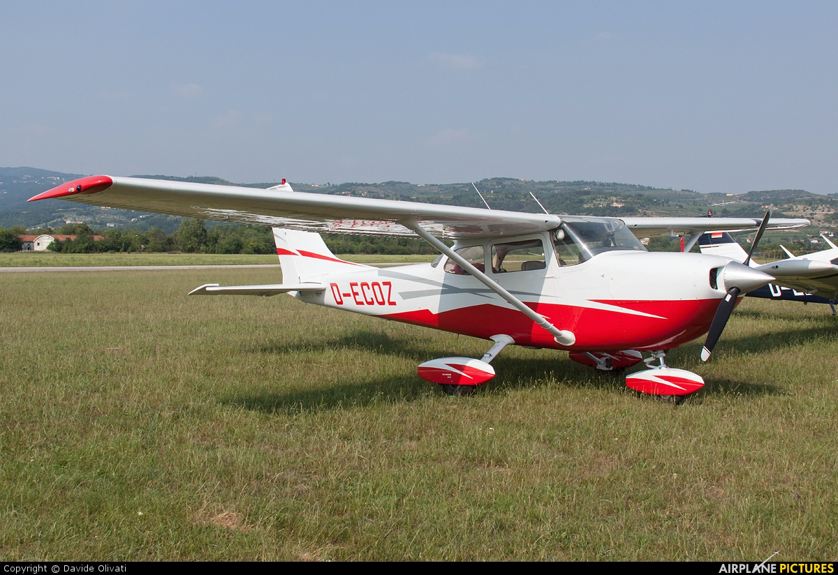 Private D-ECOZ aircraft at Verona - Boscomantico