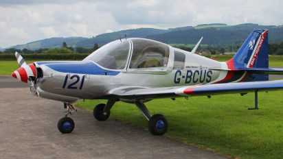 G-BCUS - Private Scottish Aviation Bulldog