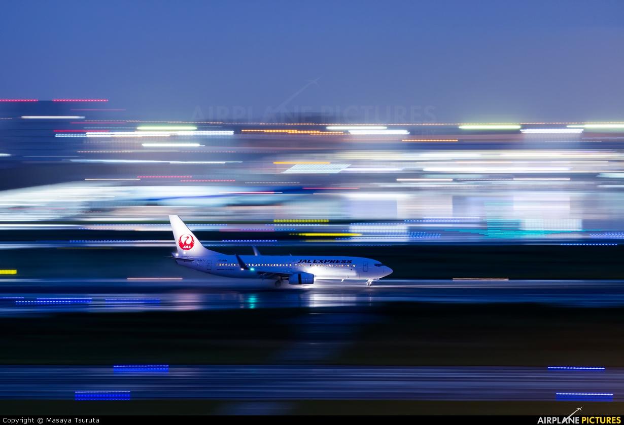 JAL - Express JA347J aircraft at Tokyo - Haneda Intl