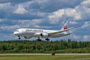 JA829J - JAL - Japan Airlines Boeing 787-8 Dreamliner aircraft