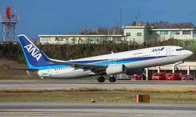 JA62AN - ANA - All Nippon Airways Boeing 737-800