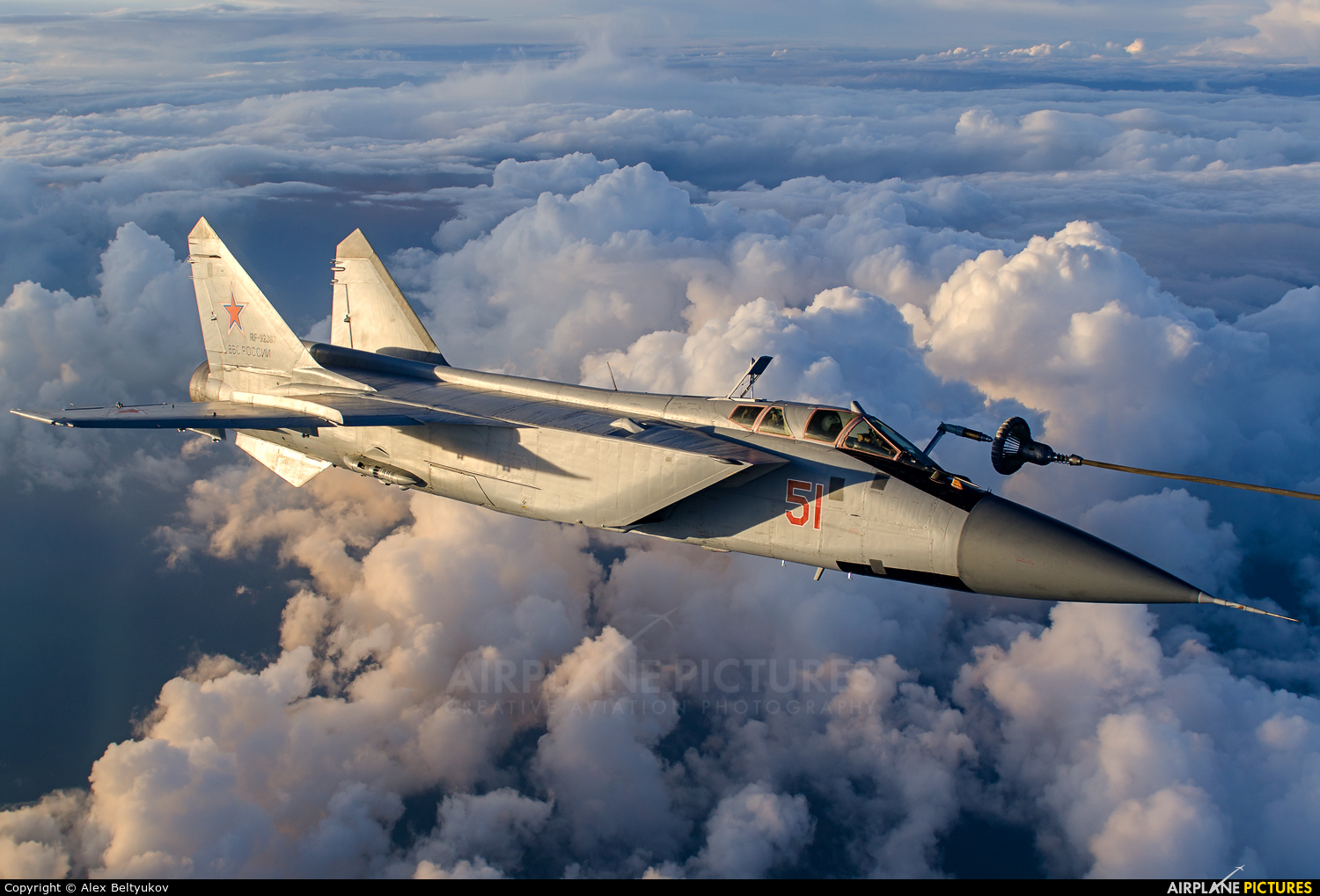 Russia - Air Force 51 aircraft at In Flight - Russia