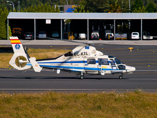 EC-KTL - Helicsa Helicópteros Aerospatiale AS365 Dauphin II