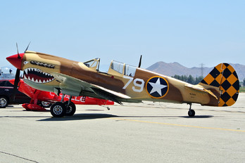 N85104 - Air Museum Chino Curtiss P-40N Warhawk