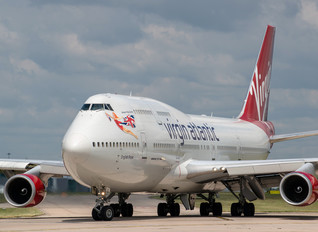 G-VROS - Virgin Atlantic Boeing 747-400