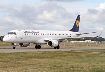 D-AEBD - Lufthansa Regional - CityLine Embraer ERJ-195 (190-200)