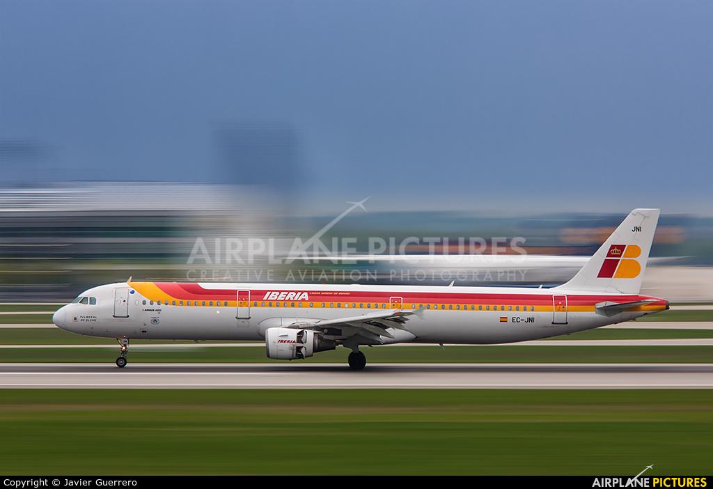 Iberia EC-JNI aircraft at Munich