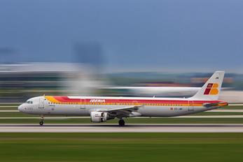EC-JNI - Iberia Airbus A321